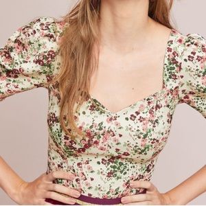 Anthropologie Alchemy Fitted Blouse, NWT, Size 10